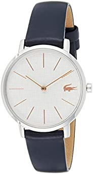Lacoste Womens Quartz Watch, Analog Display and Leather Strap 2001077