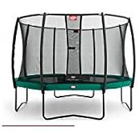 Berg Champion verde 430/14ft + Red de seguridad Deluxe