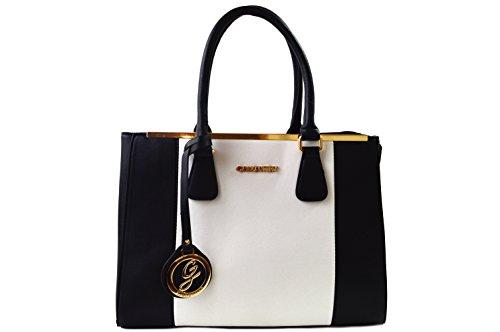 sac a main noir et blanc