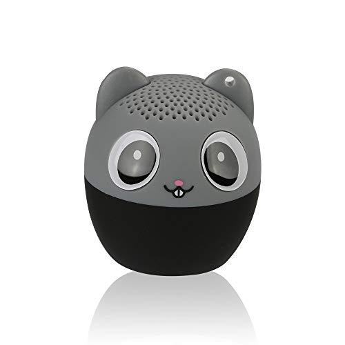 Mini-Bluetooth-Funklautsprecher, WULAU-Lautsprecher mit kraftvollem, reichhaltigem Innenaudio, 3-W-Audiotreiber, Remote-Selbstauslöserfunktion für Mobiltelefon und Tablet-E