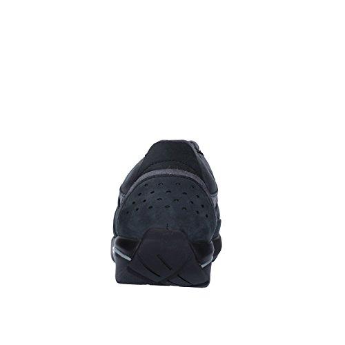 MBT Sneakers Homme EU Nubuck Gris Noir