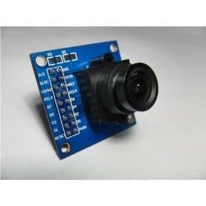 VGA OV7670 Camera Module Lens CMOS 640X480 SCCB Compatible W/ I2C Interface