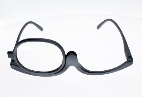 Schminkbrille Damen Brille, Lupe: 1.0