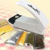 #5: BJE Portable Sealing Tool ,Heat Mini Handheld Plastic Bag Impluse Sealer,White