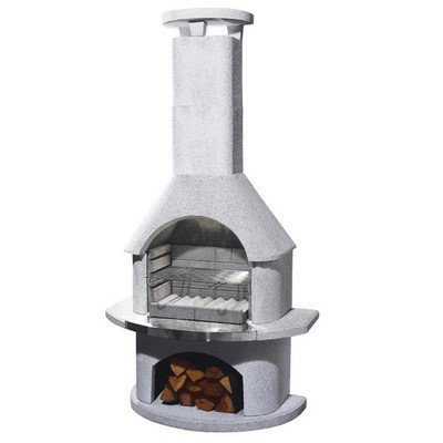 54cm Elba Masonry Charcoal Barbecue