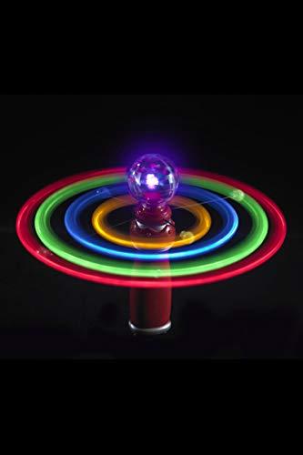 Smiffys Solar Kreisel, Leuchtende Kugel und Umlaufbahnen, Bunt, -