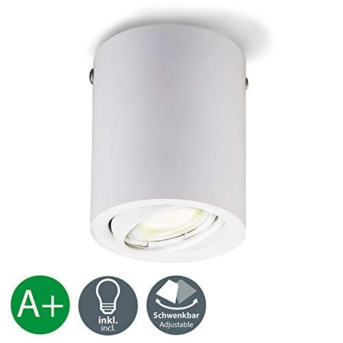 Foco techo LED integrado interior incl