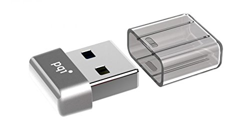 64GB PQI U603V USB3.0-ultra-kleinen-Flash-Laufwerk Silver Edition -