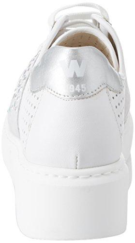 Melluso Damen Donna-Walk Techno Sneaker Bianco (Bianco)