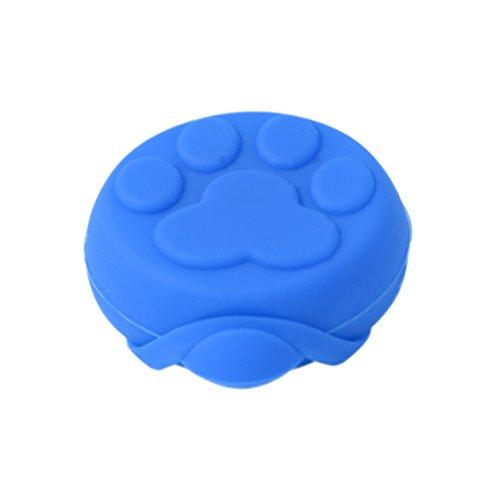LED Silikon Leuchtanhänger inkl. Batterie Leuchthalsband für Hund Haustier Katze uvm. Led Hundehalsband in blau von der Marke PRECORN - 2