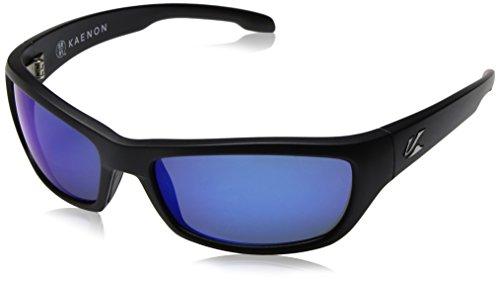Kaenon Cowell Sonnenbrille, Rahmen und Farbe der Gläser, Schwarz (matte black), Einheitsgröße