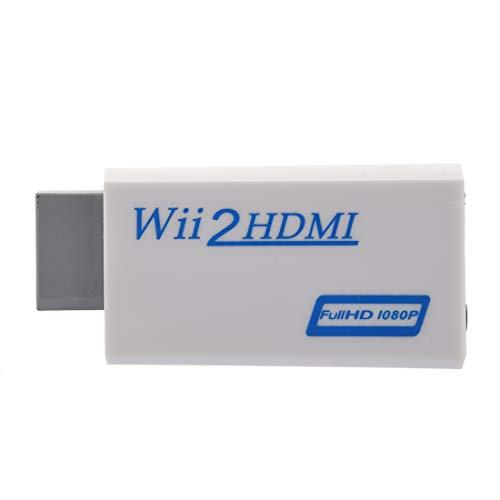 REFURBISHHOUSE Wii mit HDMI 480P Converter Fuer Wii Konsole