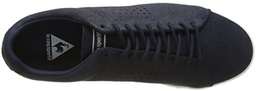 Le Coq Sportif Charline Metallic Suede, Formatori Bassi Donna Blu (Dress Blue)