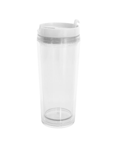 Zakdesigns 1358-8090 Tasse Thermos Plastique Transparent 45 x 35 x 25 cm 400 ml