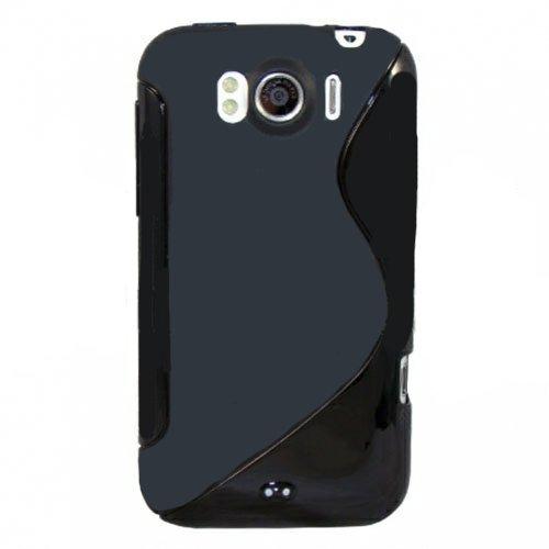 Movilconsolas Funda Silicona Gel HTC Sensation XL (G21) Negro