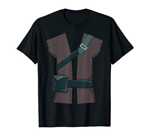 Ritter in glänzender Rüstung Schwert Anzug Halloween-Kostüm T-Shirt (Oktober Halloween-2019 31.)