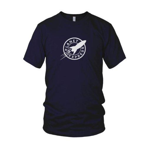Planet Express - Herren T-Shirt, Größe: L, dunkelblau