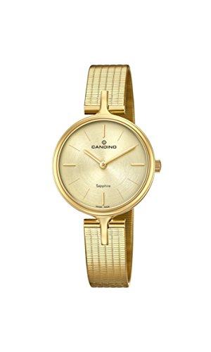Candino Reloj Análogo clásico para Mujer de Cuarzo con Correa en Acero Inoxidable C4644/1