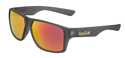 bollé Erwachsene Brecken Sonnenbrille, Matt Grey Crystal, Medium