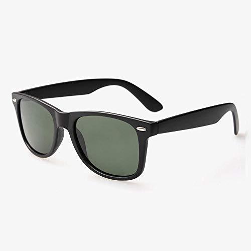 CYCY Neue Fahrer Fahren Spiegel auch Haare Männer und Frauen Neue polarisierte Sonnenbrille helle Sonnenbrille Fahrspiegel GS2140 Brille Sonnenbrille hellschwarz alle grau, hellschwarz G15 Objektiv
