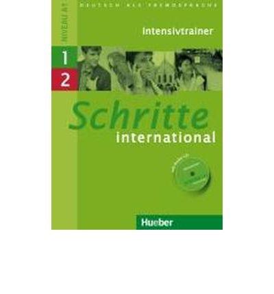 Schritte International: Intensivtrainer Mit Audio-CD 1 & 2 (Mixed media product)(German) - Common