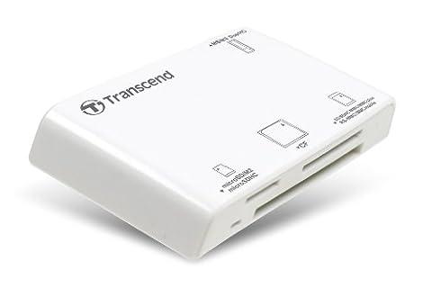 Transcend TS-RDP8W Lecteur de cartes mémoire tout en un USB