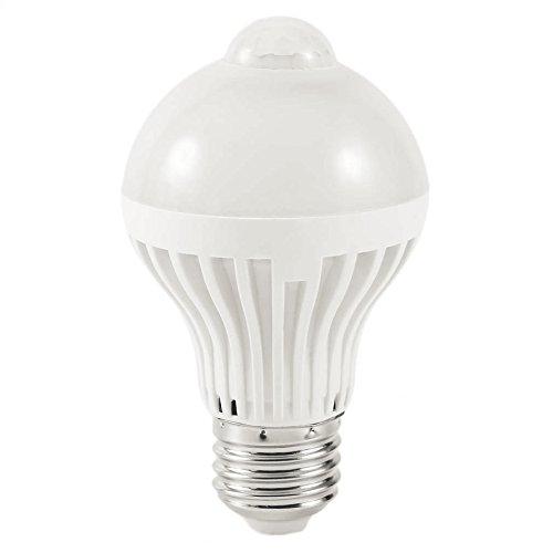 Generic White : 7W-GYQPD007 LED Motion Sensor Lamp Bulb Auto...