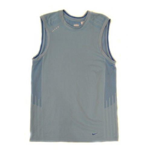 Nike zonder mouwen Dri-Fit Running Tank S Top Post Blue - Nike Post