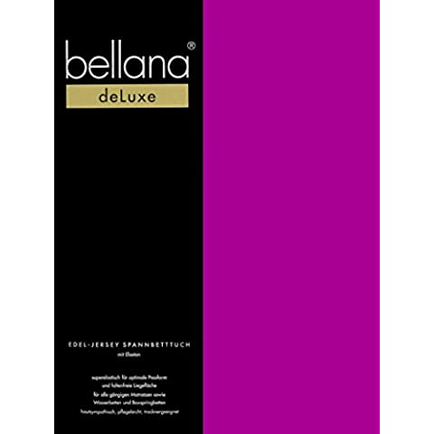 Bellana® Deluxe–Sábana bajera ajustable para camas de agua y camas, tejido mixto, frutas del bosque, 180-200 x 200-220 x 18-35 cm