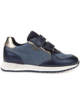 Geox J Jensea C, Zapatillas para Niñas