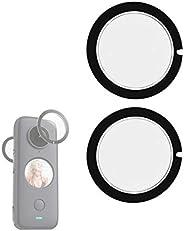 Higatful - Protezioni per lenti per Insta360 ONE X2 Sticky
