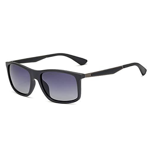 TR Glasses Classic Rice Nail Hochwertige Sonnenbrille Polarized Men Sonnenbrille Brille (Color : 03Gray, Size : Kostenlos)