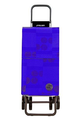 Rolser Paris Logos DOS+2 Einkaufstrolley mit 4 Rädern Zentimeter blau