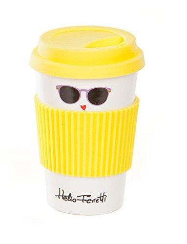 Heliotrop Ferretti Sonnenbrille Tasse gelb