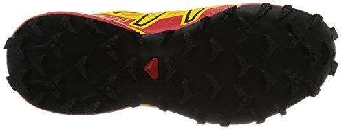 Salomon Speedcross 3 Gtx Damen Trail Runnins Sneakers Amarillo (Yellow Gold / Radiant Red / Black)