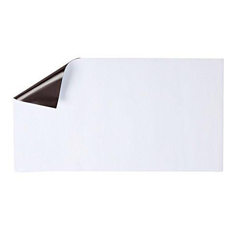 Tableau blanc magnétique effaçable à sec Tableau mémo Aimant de réfrigérateur Note découpable Stickers frigo pour laisser des messages