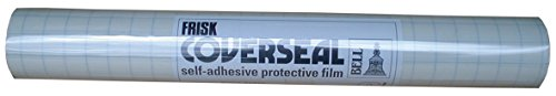 Frisk - Película para forrar (Rollo de 500 mm x 10 m), Transparente