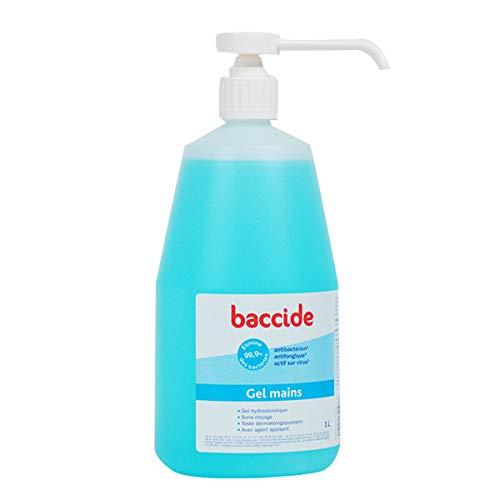 Baccide-Gel Main Antibactérien Sans Rinçage Baccide Cooper, 1L