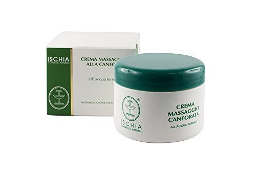 Ischia Cosmetici Naturali Crema Massaggio alla Canfora - 300 ml