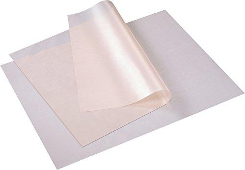 Westmark 2 Dauerbackfolien mit Antihafteffekt, PTFE beschichtetes Glasgewebe,  Zuschneidbar, 40 x 50 cm, Weiß, 30192260