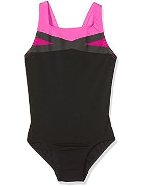 adidas Mädchen Regular Colorblock Takedown Badeanzug