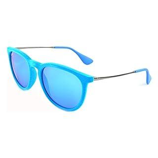 Ray-Ban - Lunettes de Soleil - RB4171 - Erika - Mixte - Bleu (Light Blue 607955) - 54 mm (B00I1KAD58)   Amazon price tracker / tracking, Amazon price history charts, Amazon price watches, Amazon price drop alerts