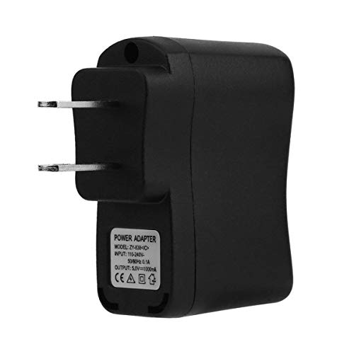 Gugutogo AC/DC Adapters 1Pc USB Wall Adapter MP3 Charger AC DC Power Supply EU/US Plug Suitable for DVS, mp3, Cellphone, PDAs Pda Ac Adapter