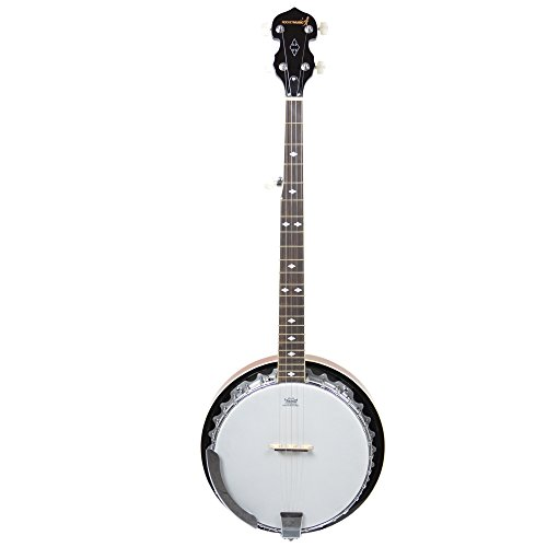 Rocket BJM01 - Banjo de 5 cuerdas, color marrón