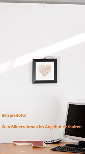 Stellwandhaken, Trennwandhaken, Bilderhaken 31 mm mit Lochbohrung, Aufhänger für Stellwände - 5 Stück