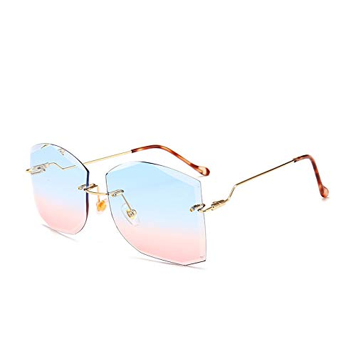 Yangjing-hl Jahr Polygonschnitt Mode Sonnenbrillen Frauen komplexe Trend Sonnenbrillen