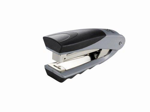 rexel-centor-half-strip-stapler-73mm-throat-depth-black-silver-25-sheet-capacity