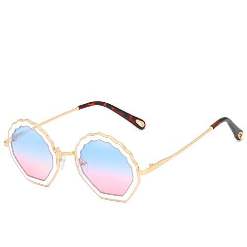 783ac51001 Sunglasses Sunglasses For Women Classic Shell Blue Pink Lens Shaped Lens  Hollow Frame Sun Glasses Candy