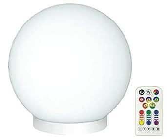 jedi lighting 3in1 glam rgb led glaskugel leuchte dimmbar warmton farbwechsler mit. Black Bedroom Furniture Sets. Home Design Ideas