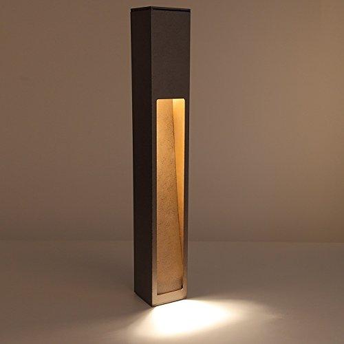 Feu de route en Brossé minerai Aluminium avec simple face Émission de lumière